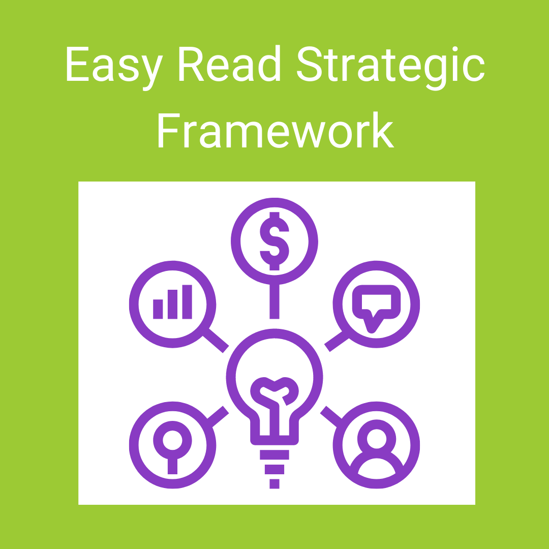 Website Easy Read Strategic Framework